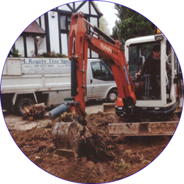 Ground Works across North London, Essex and Hertfordshire.
