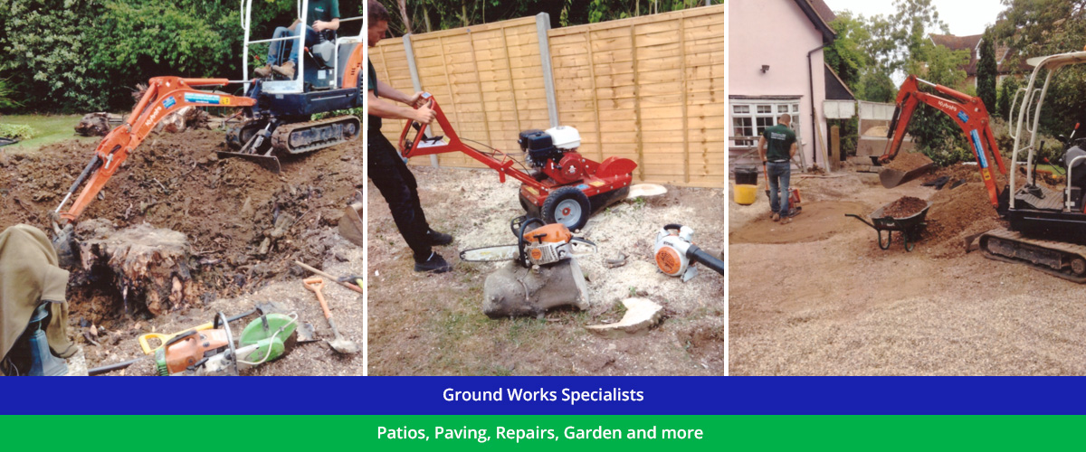 Ground Works Specialists across North London, Essex and Hertfordshire