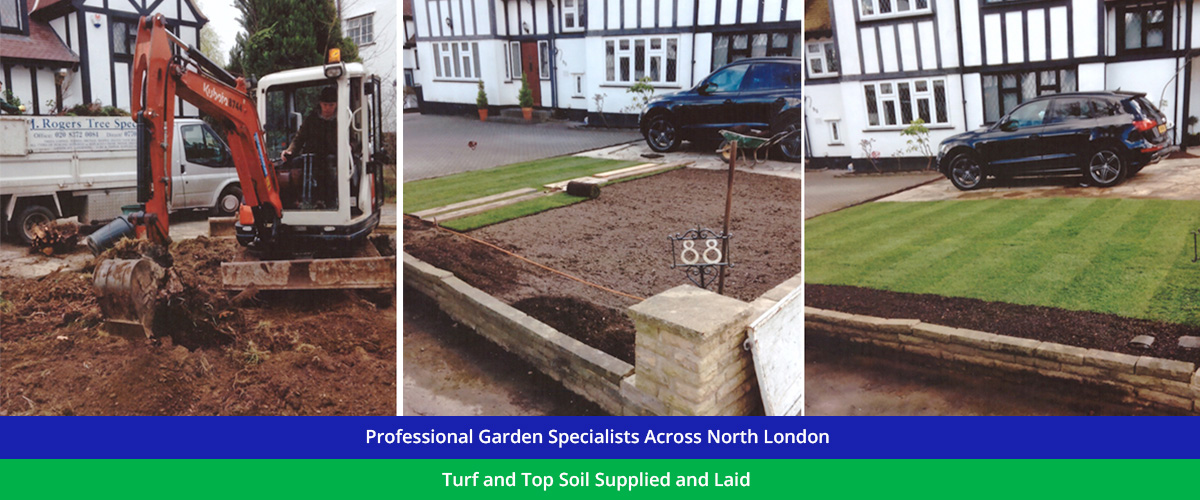 Professional Garden Specialists across North London, Essex and Hertfordshire